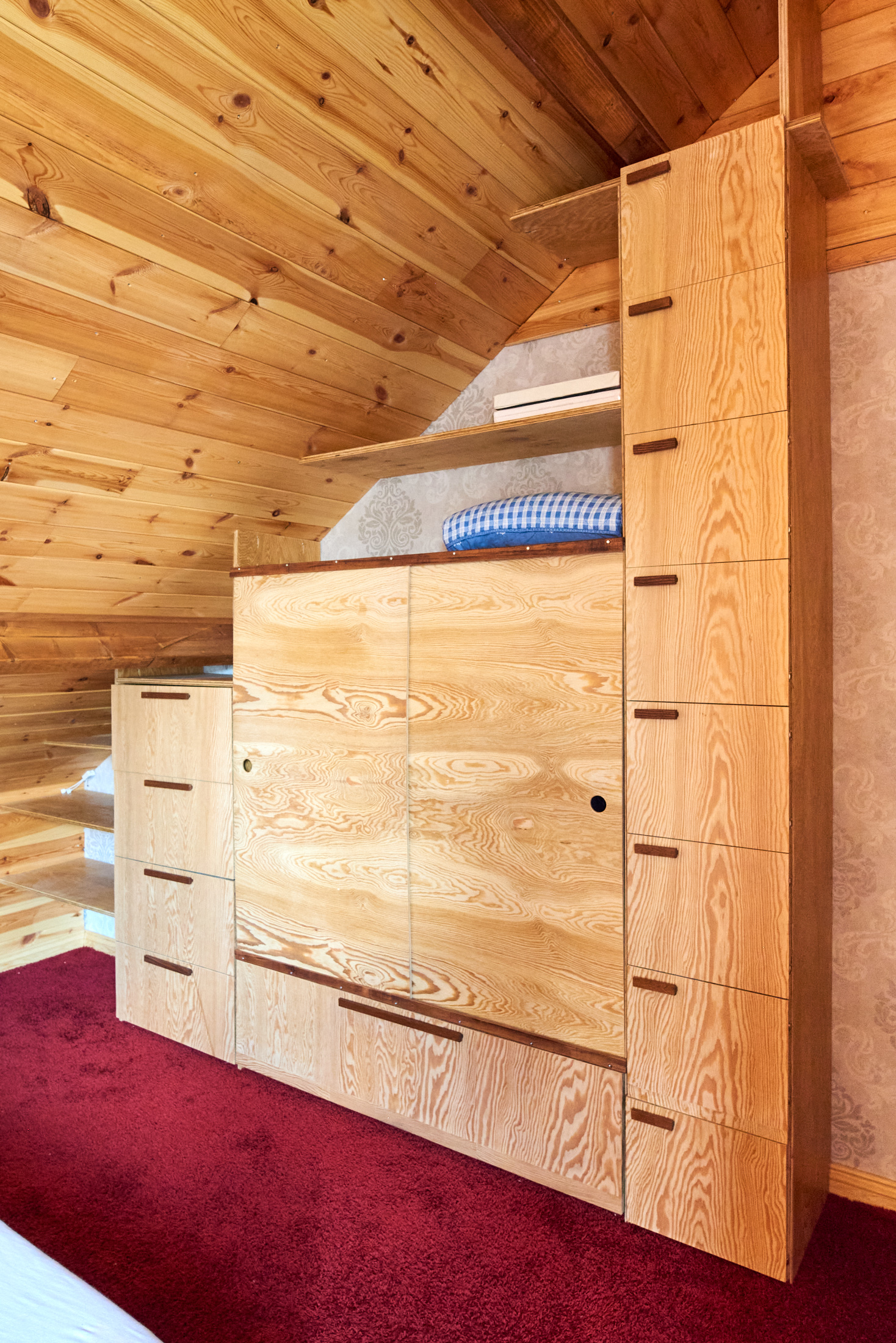Wandkast slaapkamer
